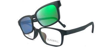 Gafas graduadas para niños con Clip de Sol Smart Clip de Sunwall SUNK01C1