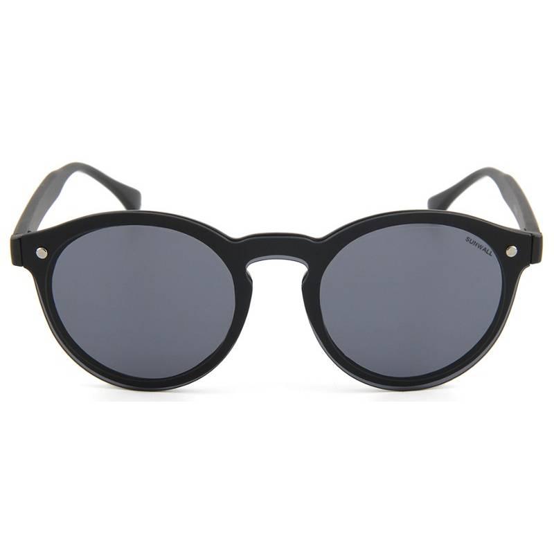 gafas de sol sunwall street black flat lenses