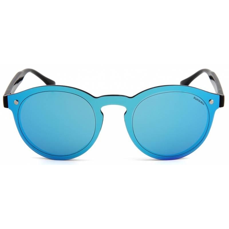 street revo blue mirror eyewear