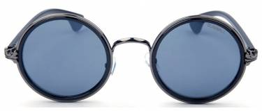 owen black round sunglasses