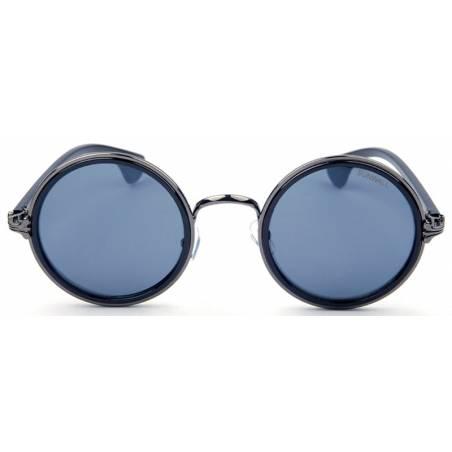 owen black round sunglasses