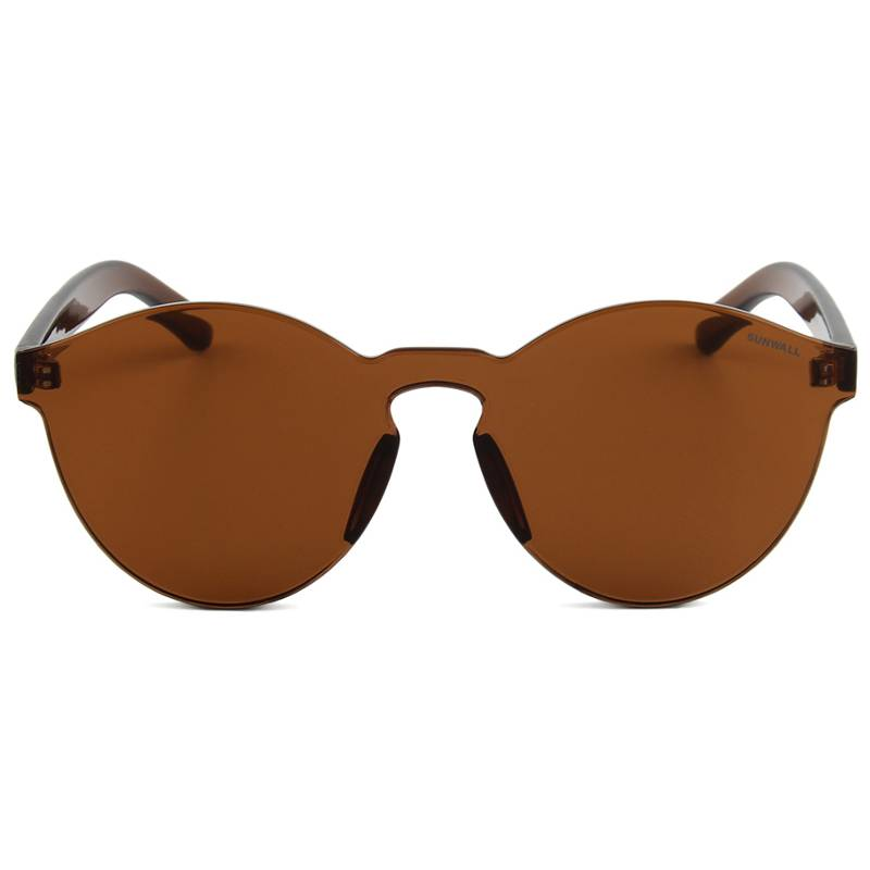 sunwall vibes brown sunglasses