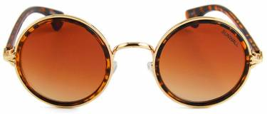 owen brown gradient round sunglasses