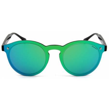 street revo green mirror eyewear