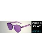 Gafas de Sol Sin Montura VIBES FLAT | Sunwall® Lentes Planas
