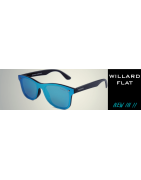 Gafas de Sol Estilo Wayfarer  WILLARD FLAT | Sunwall® Lentes planas