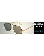 Gafas de Sol Estilo Aviador EAGLE FLAT | Sunwall Lentes planas
